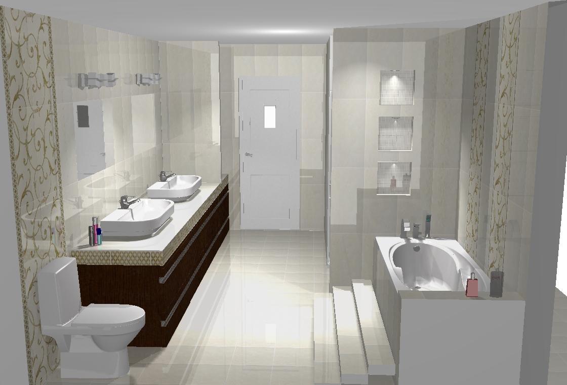 Krystian Police Nowe Przykłady Wizualizacji łazienek